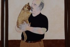 Man with Cat Series