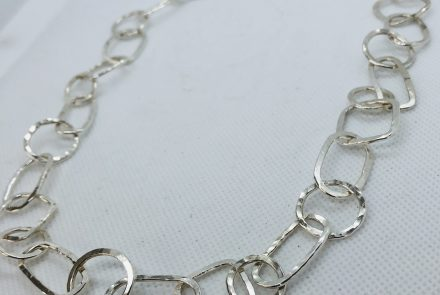 21.5″ Hammered Link Chain