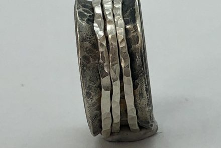 Spinner Ring, Sterling