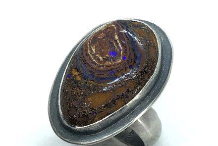 Boulder Opal Ring, 10