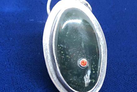 Blood Stone Pendant