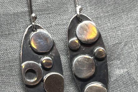 Sterling Silver Earrings – Ovals